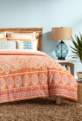 Catalina Paisley Duvet Set
