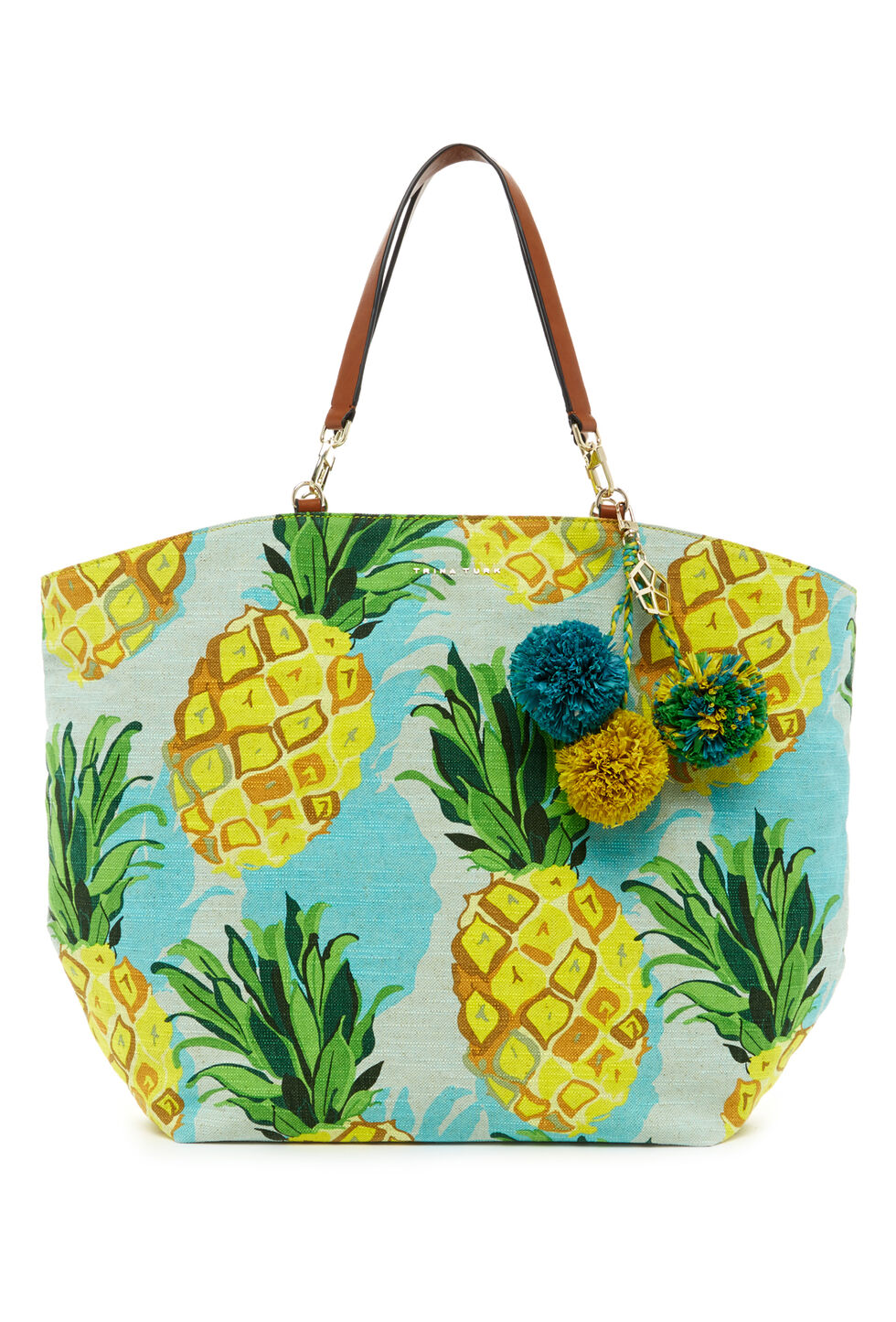 Trina Turk Sunkissed Tote - Yellow - Size O/S