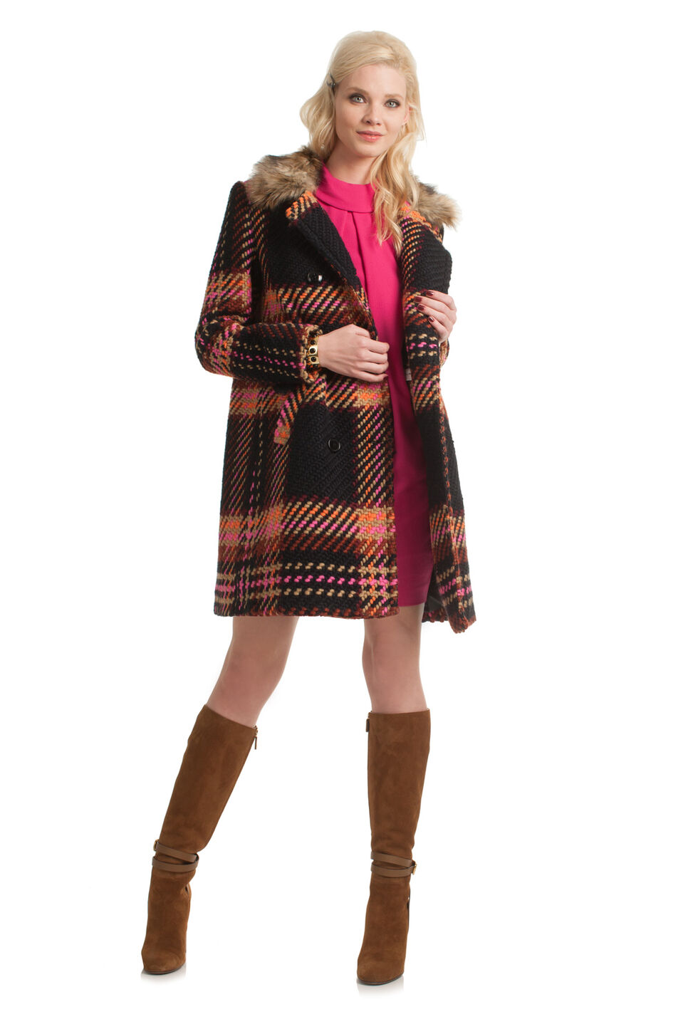 Trina Turk Satisfaction Coat - Multicolor - Size 0