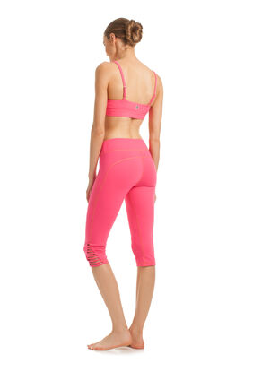 Strapped Solids Mid Length Legging