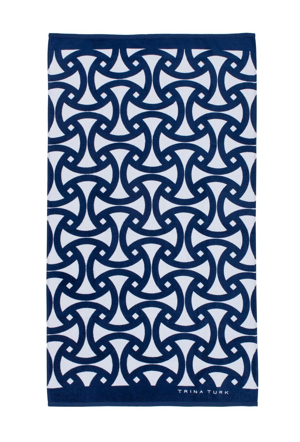Santorini Beach Towel