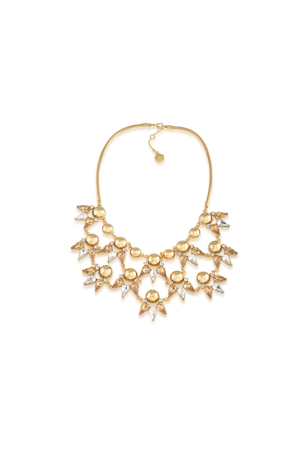 Trina Turk Starburst Drama Necklace - Gold - Size O/S