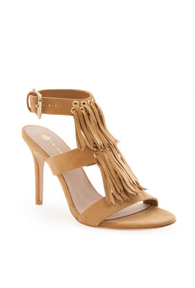 Sunset Fringe Heel