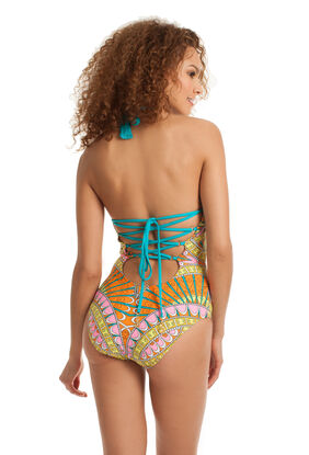 Capri High Neck One Piece