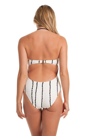 IBIZA BANDEAU ONE PIECE