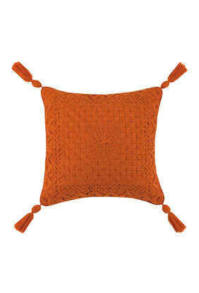 Portola Bargello Orange Pillow