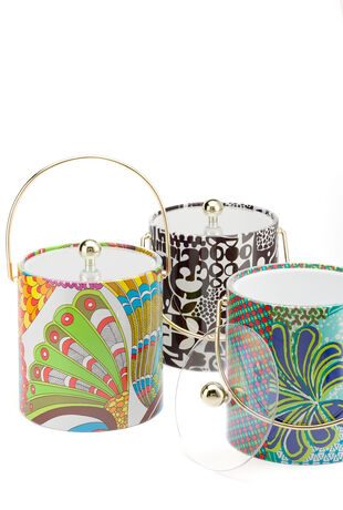 Trina Turk Signature Print Ice Bucket