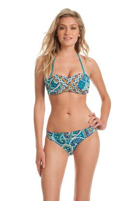 Provence Paisley Bandeau Bikini Set