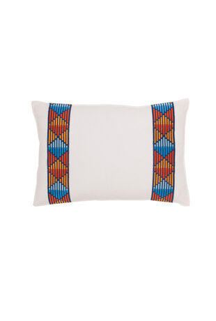 Costa Mesa Medallion Oblong Pillow