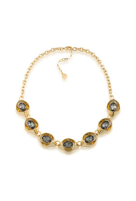Adjustable Open Link Collar Necklace