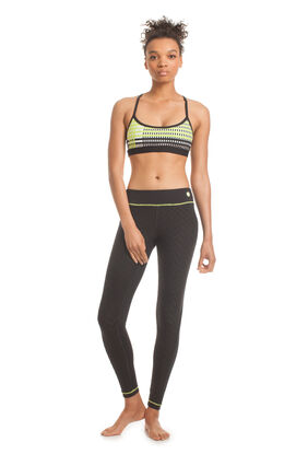 Jet Set Jacquard Full Length Legging