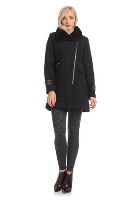 Aubree Side Zip Moto Jacket