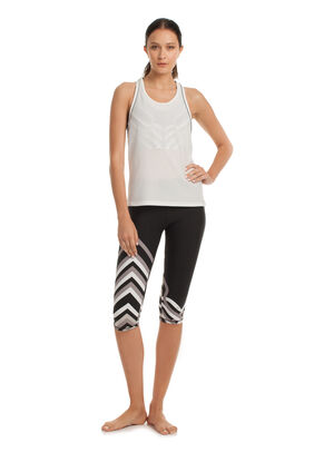 LATTICE WRAP MID LENGTH LEGGING