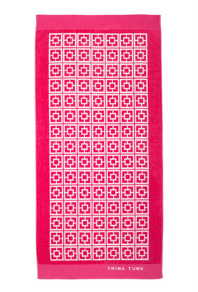 PALM SPRING BLOCK TOWEL