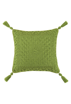Portola Bargello Green Pillow