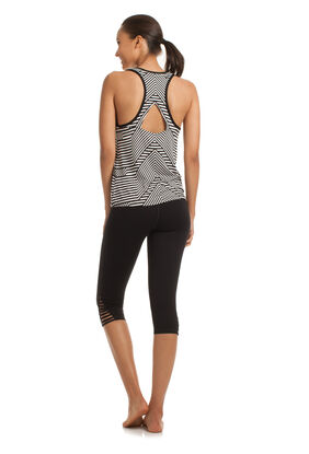 Chevron Jersey Draped Tank