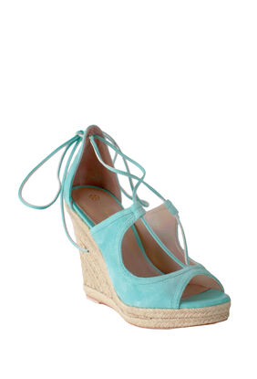 Lace Up Wedge