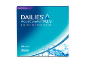 DAILIES AQUACOMFORT PLUS MULTIFOCAL CONTACTS - 90 PACK