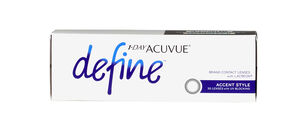 ACUVUE 1-DAY DEFINE CONTACTS - 30 PACK
