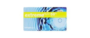 EXTREME H20 59% THIN CONTACTS - 6 PACK
