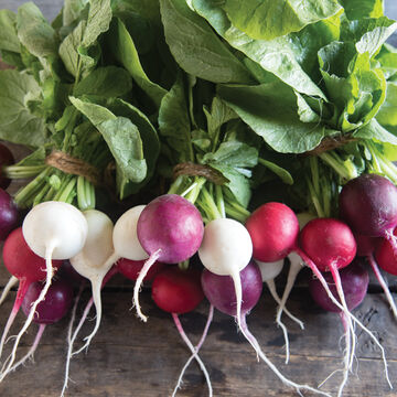Spicy & Crisp Radishes