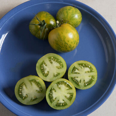 Green Zebra Heirloom Tomatoes