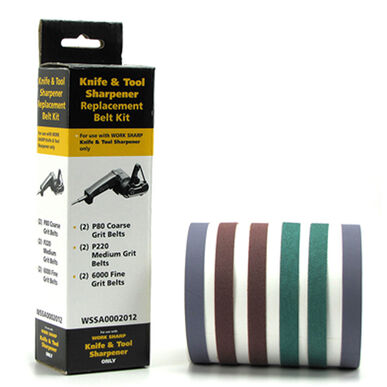 Work Sharp Replacement Belt Assortment