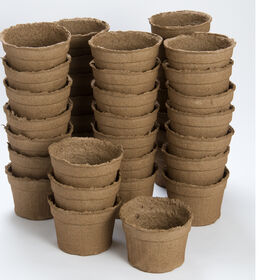 "6"" Round CowPots™ – 42 Count Biodegradable Pots"