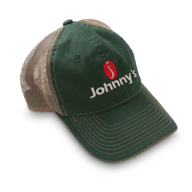 Johnny's Tractor Hat - Green front, khaki back.