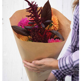 Kraft Paper Cut-Flower Sleeves – M Cut-Flower Supplies