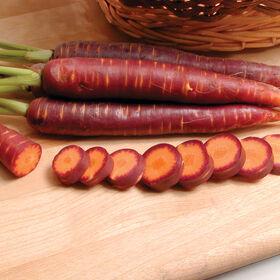 紫色的烟雾主要作物胡萝卜