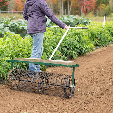 """Johnny's Seedbed Roller – 36"""" Seed Bed Rollers"""