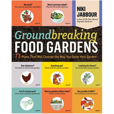 Groundbreaking Food Gardens Books