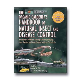 自然的有机园丁手册昆虫和疾病控制书籍