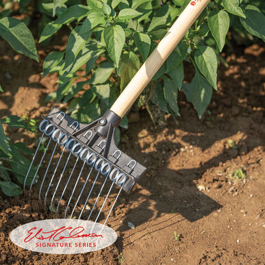 Tine Weeding Rake 9 Quot Johnny S Selected Seeds