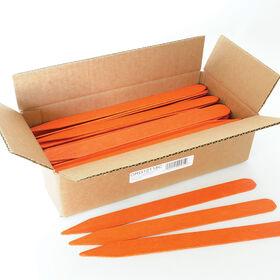橙子处理的花园标签标示用品