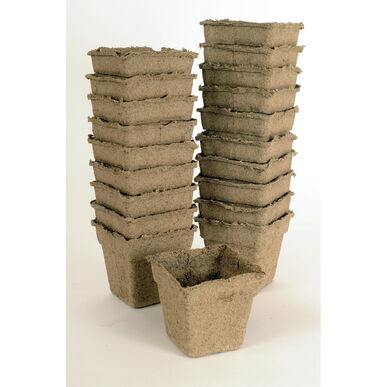 "4"" CowPots™ – 20 Count Biodegradable Pots"