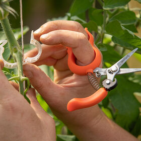 Hands-Free Pruning Scissors - Stainless Steel Crop Supports