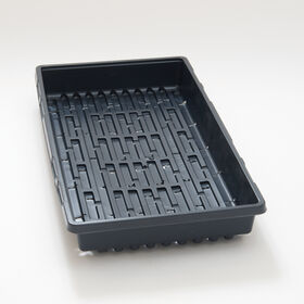Seedling Trays - Case of 100 Trays Domes and Flats