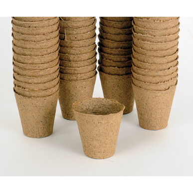 "Fertil Pots Round 2-1/3"" dia. x 2-1/3"" h -Case of 3,000."