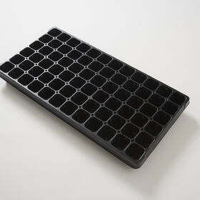 Plug Flats - 72 Cells/Flat - Pack of 5 Trays Domes and Flats