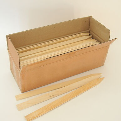 "Wooden Field Stakes -18"" - Box of 100"