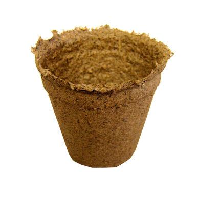 """3"""" Round CowPots™ – 400 Count Biodegradable Pots"""