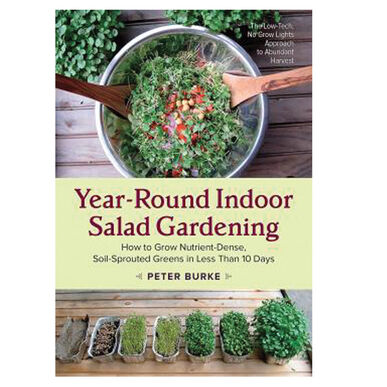 Year-Round Indoor Salad Gardening Books
