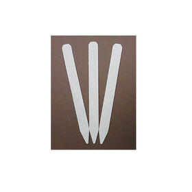 Wooden Garden Labels - White Treated - Box of 100