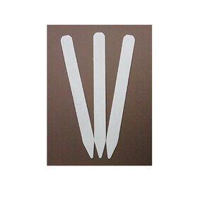白色处理花园标签-100个计数标签用品