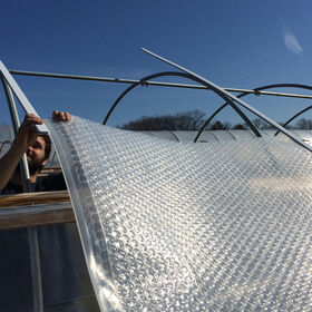 SolaWrap™ Greenhouse Covering 4' x 328' roll Greenhouse Film