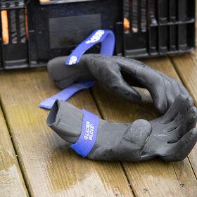 寒冷的天气洗车站手套——XS收获后