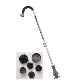 Mulch Hole Burner Deluxe Kit Long-Handled Tools