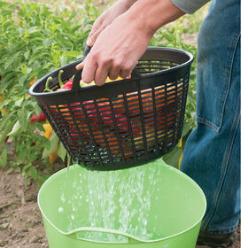 Small Tubtrug® Colander – Black Tubtrugs®